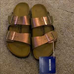 Birkenstock's sandals pink never worn with tag